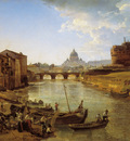 new rome the castle of s angelo