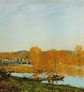 Autumn   Banks of the Seine near Bougival