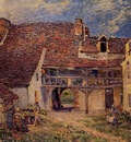 Courtyard of a Farm at Saint Mammes
