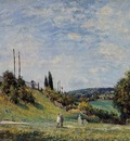 Railroad Embankment at Sevres
