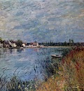 Riverbank at Saint Mammes