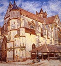 The Church at Moret Afternoon