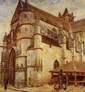 The Church at Moret Icy Weather
