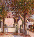 View in Moret (Rue de Fosses)