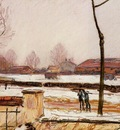 Winter Landscape Moret