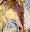 before the mirror 1876