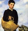 boy with dog 1860