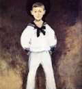 portrait of henry bernstein as a child