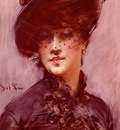 La Femme au Chapeau Noir Lady with a Black Hat]