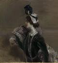 portrait of mme lina cavalieri