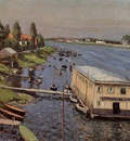 boathouse in argenteuil 1886