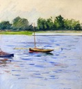 sailing boats on the seine at argenteuil 1890