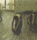 the floor scrapers  study