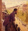 the man on the balcony