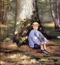 Yerres Camille Daurelle under an Oak Tree