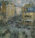 cligancourt street in paris