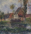 Small Farm by the Eure River