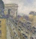 The Arc de Triomphe Friedland Avenue