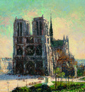 view of notre dame paris