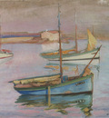 Boats at the Port Ile de Yeu