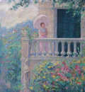 Lady on the Balcony