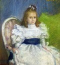 portrait of marcelle mezieres nine years old