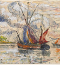 fishing boats in la rochelle 1919