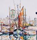 La Rochelle Boats and Houses