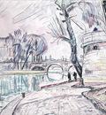 Paris  River Scene