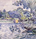 the banks of seine