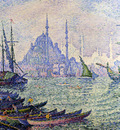 the golden horn constantinople minarets