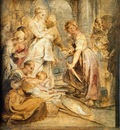 achilles and the daughters of lykomedes 1617