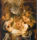 adoration of the shepherds  1615