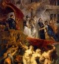 arrival of marie de medici at marseilles 1622