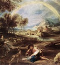 landscape with a rainbow 1632