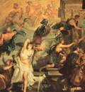 the apotheosis of henry iv and the proclamation of the regency of marie de medicis on may 14