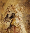 the marriage of henri iv of france and marie de medicis  1628