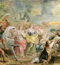 Truce between Romans and Sabinians