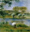 Landscape Banks of the River