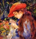 mademoiselle marie therese durand ruel sewing