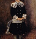 marthe berard also known as girl wearing a blue sash