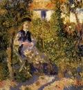 nini in the garden 1875