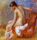 nude in an armchair 1895