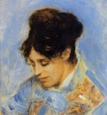 portrait of madame claude monet