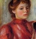 portrait of a woman 1891
