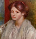 portrait of a young woman 1883