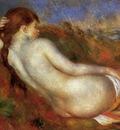reclining nude