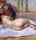 Sleeping Nude with Hat also known as Repose