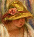 Study of a Woman in a Yellow Hat