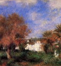 the garden of essai in algiers